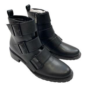 BLONDO VERA Triple Buckle Boots Size 8 S015
